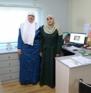 Moushira Abu Ismaël et Manar Jabareen (Photo 3)
