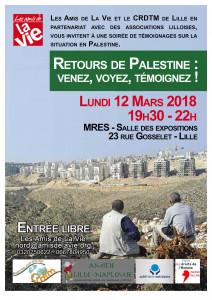 Affiche-Retours de Palestine