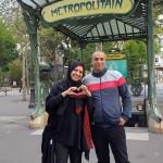 Nour et Mohammed à Paris et Bruxelles